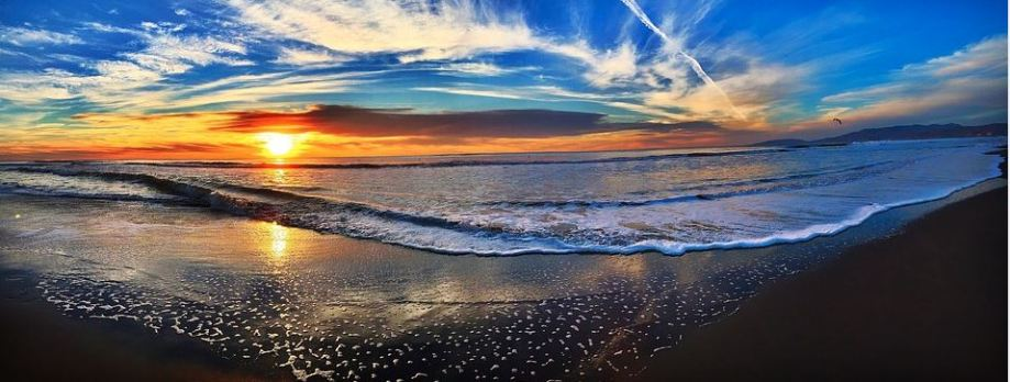 sun and ocean