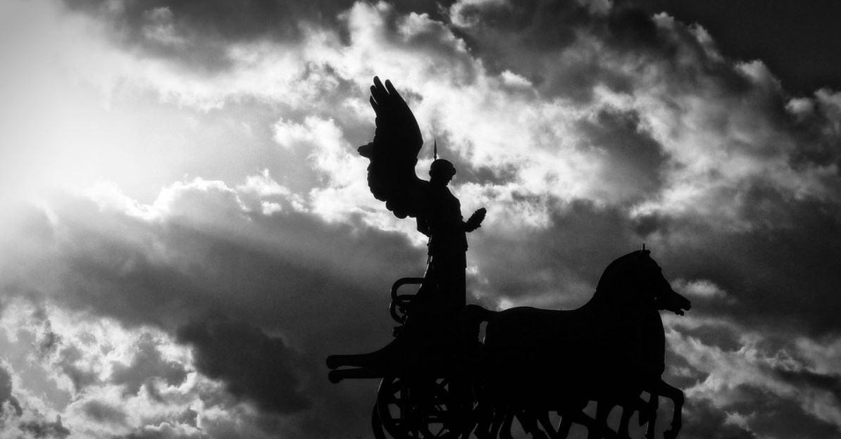angel + horse