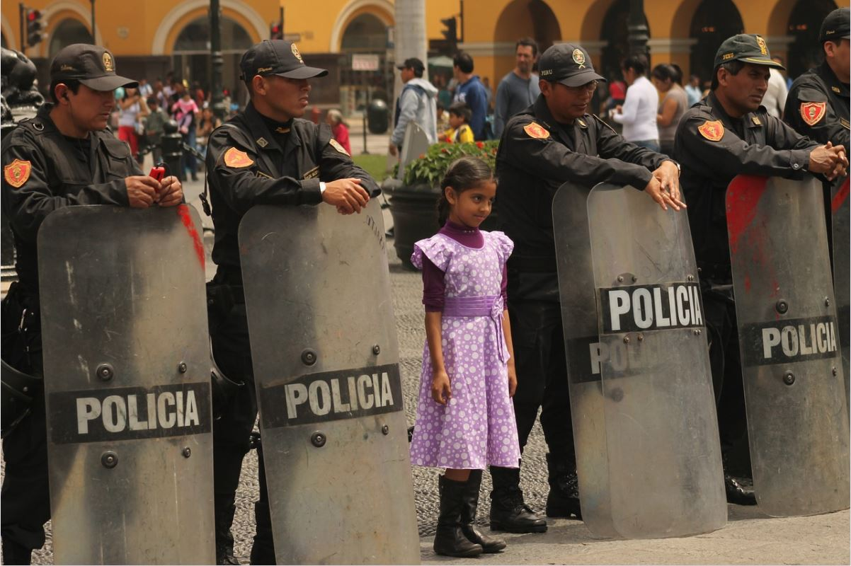 girl protected